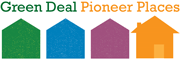 green deal pioneer places logo